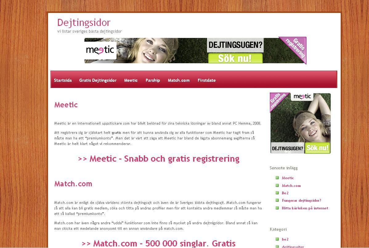 datingsidor gratis nakenfilmer