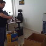 Det nya kontoret